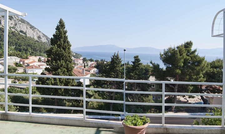Apartments Popovac / One Bedroom Apartment Popovac A4 with Sea View