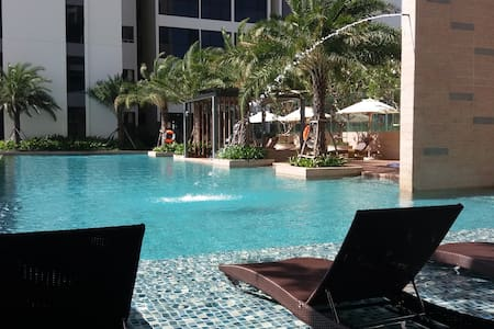 Beautiful Room & Apt in Resort with 2 Pools & Gym! - Ho Chi Minh City - Teljesen felszerelt lakás