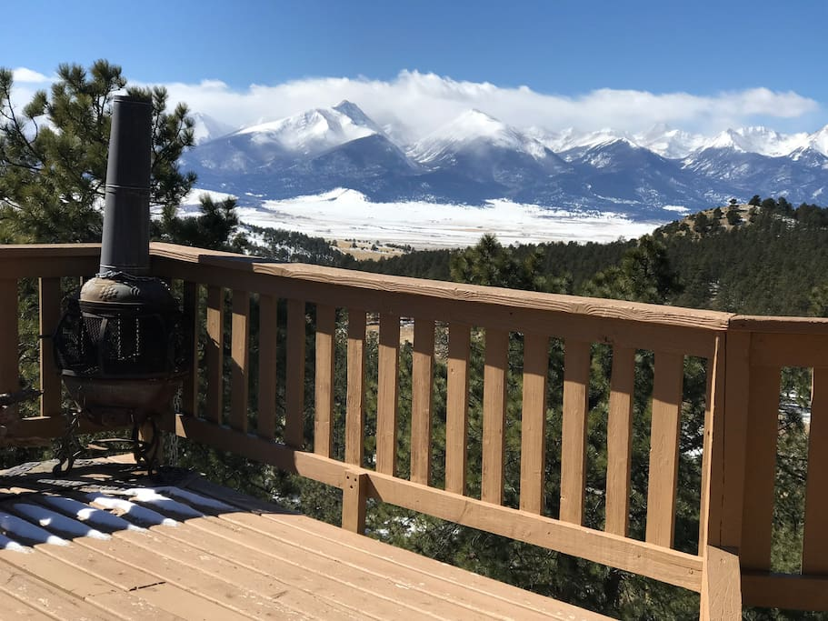 View from Deck after a Snow