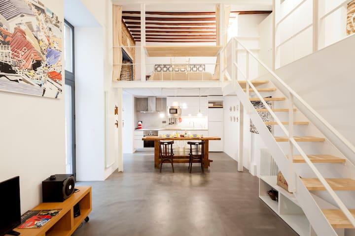 Best apartment in quiet La Latina/Plaza Mayor