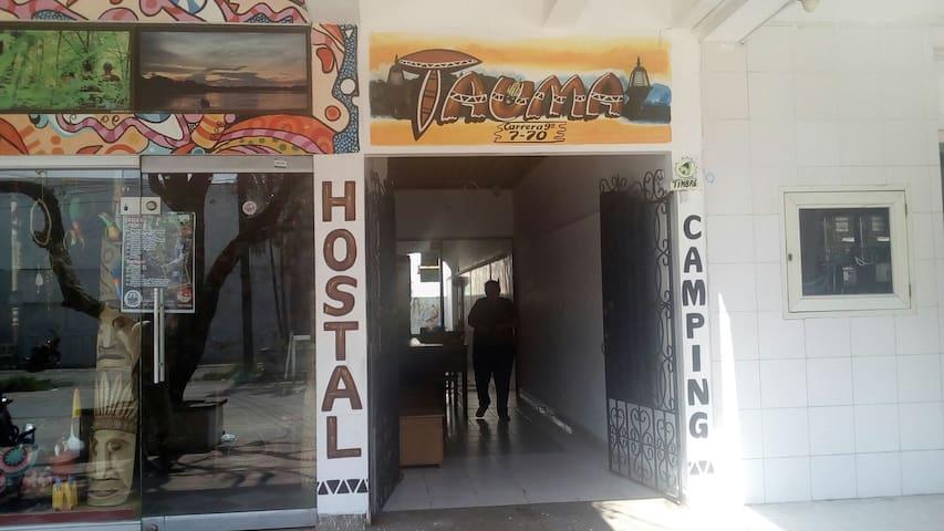 Tauma Hostal y Camping
