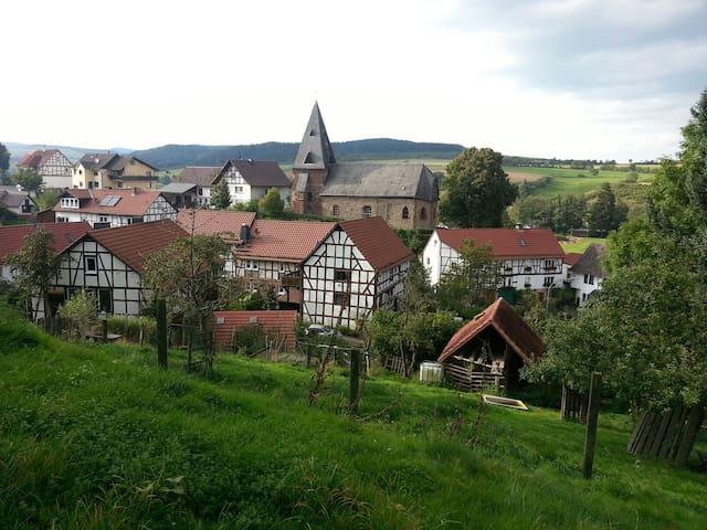 Gemütliches Fachwerkhaus 25min von Winterberg
