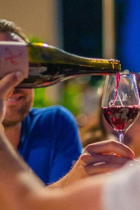 Les vins bio du domaine à déguster