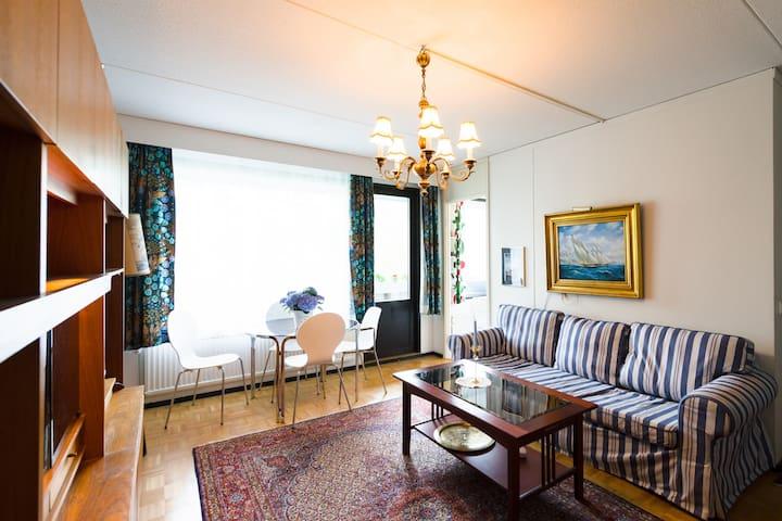 A beautiful seaside apartment