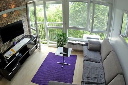PURPLE SUN - FREE PARKING AND WIFI - Zagreb - Apartment
