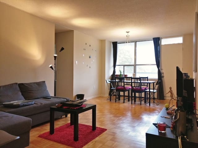 Private room in 2 bedroom apartment - Davisville