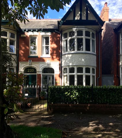Edwardian house in leafy 'Avenues' - Hull - Casa