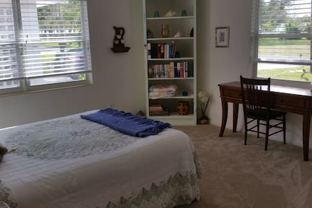 Master Bedroom with full Bathroom - Fort Pierce