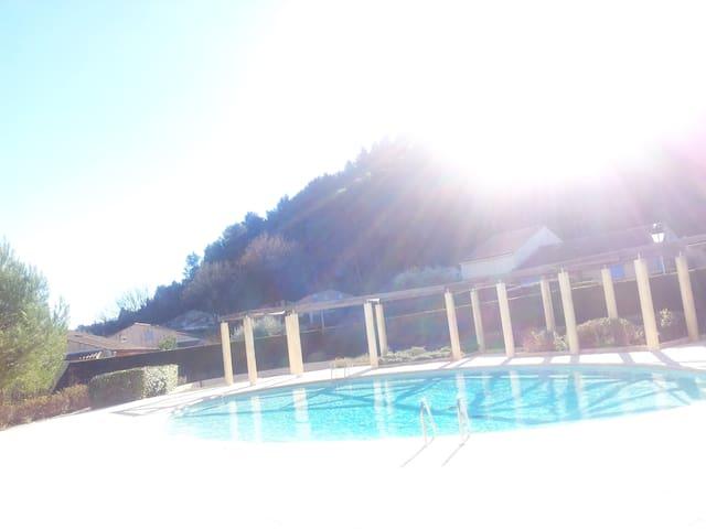 VAR villa privative jardin terrasse jusqu'à 7 pers