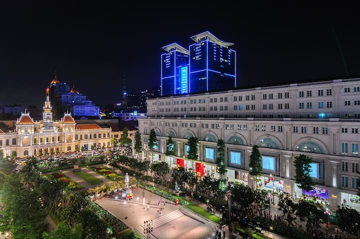 The Tresor is in city center, closes to most of popular tourist spotsighseeing places within few minutes by taxi  - Nguyen Hue walking street