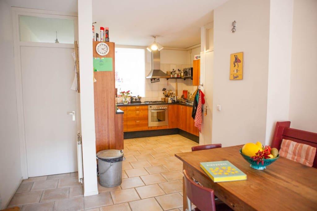 Spacious kitchen. Ground floor.