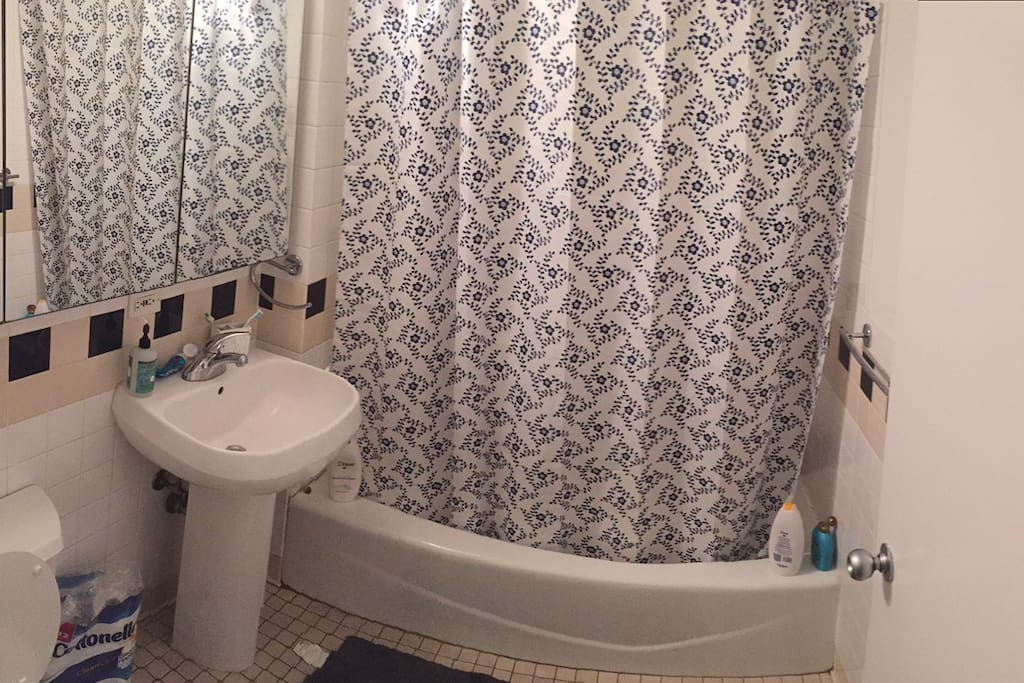 The Bathroom you share with one other person :)