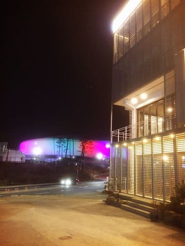 pyeongchang 2018 Olympic Stadium Air B&B