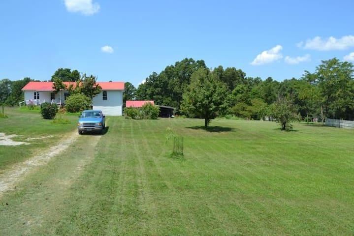 Country Home backs to National Forest near River - Dora - Casa
