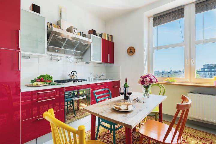 1 Bed. Apartment - METRO WILANOWSKA 2