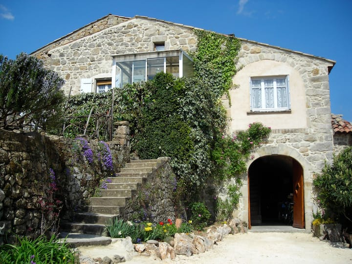 La simplicité d'une ancienne maison de vigneron