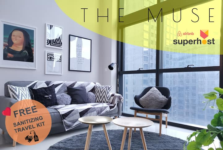 ❤️Sanitized 消毒 & Long Term Discount❤️ The Muse