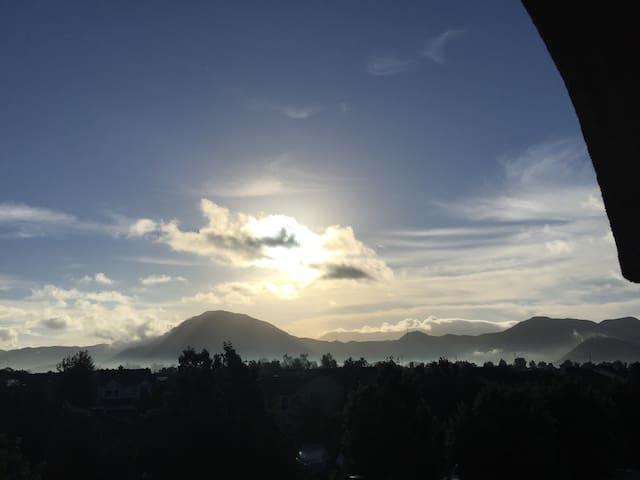 Gorgeous View of Conejo Mountain in Camarillo City