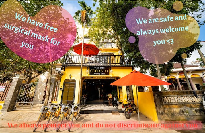 Hoi An,1BR❤Free BF/Bike❤5' old town