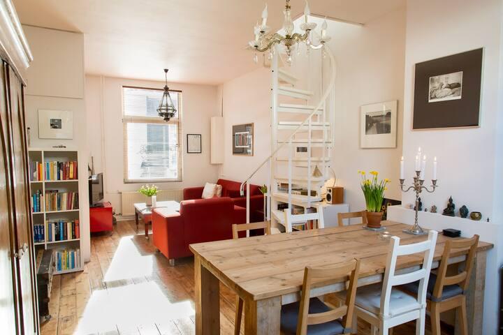 Cosy and Sunny Home near City Centre and Beach - Den Haag - Maison