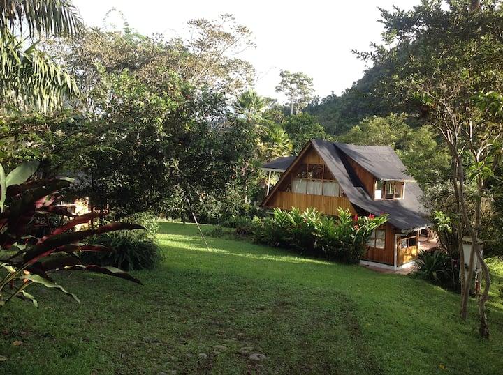 La Providencia de Mindo Wooden House