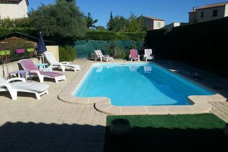 Chambre +s d'eau villa plein pieds - Caveirac - Villa - 1