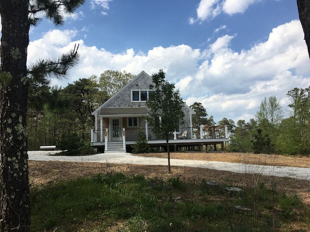 Adorable Private Beach House on Organic Tree Farm