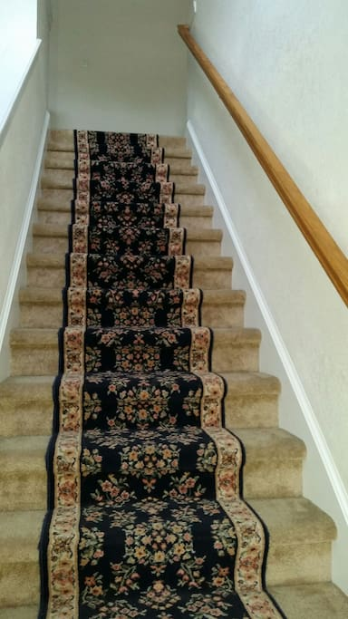 Wide Steps for easy and convenient access to room!