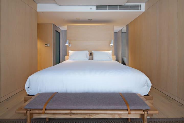 Sydney CBD Sky Room with Bath