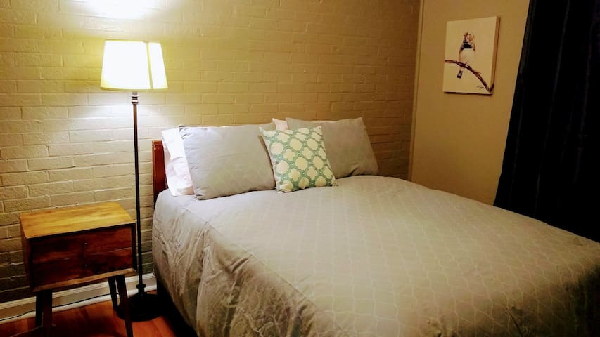 Full size bed bedroom 2