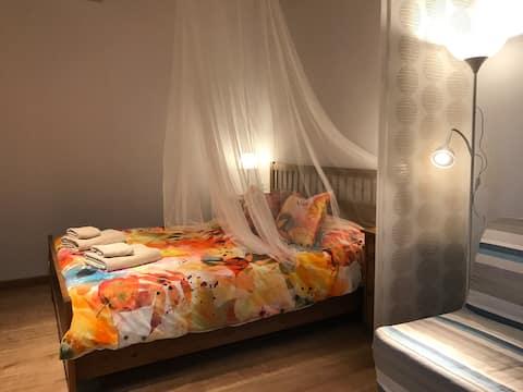 Szépségápolási apartman szép kilátással