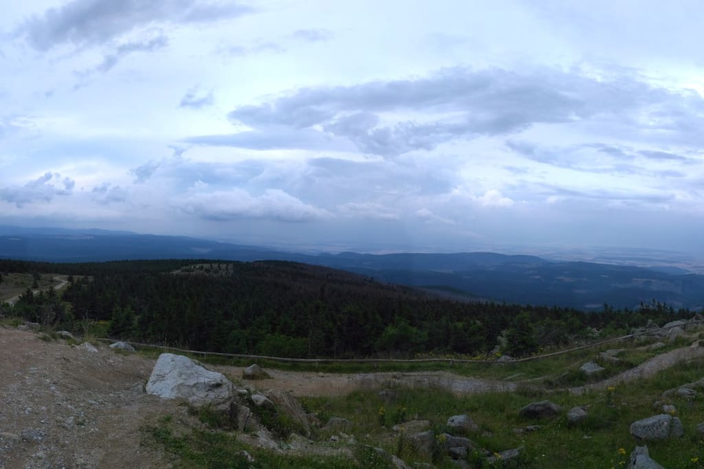 Panorama vom Brocken