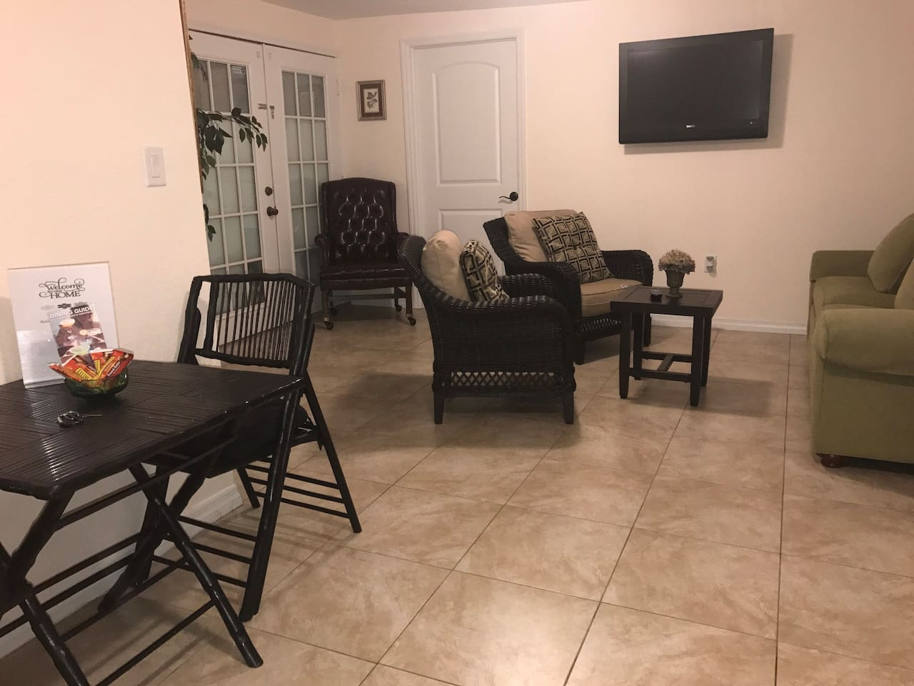 Living Room and Dining Areas