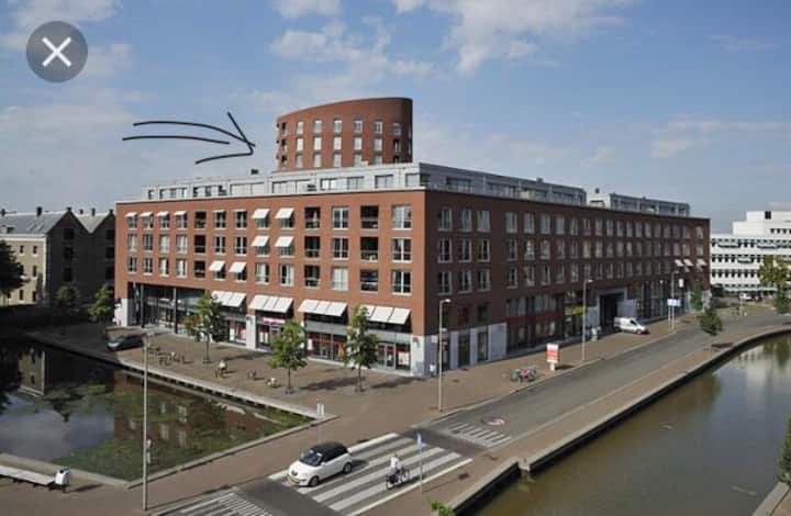 Top Location BREDA CENTRE incl private PARKING!