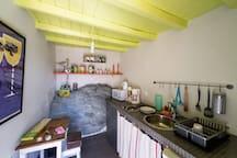 Rock kitchen