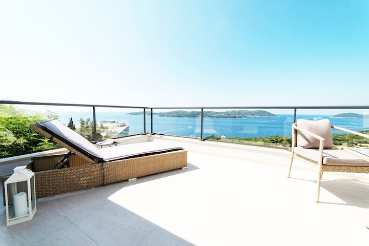 Penthouse Apartment Olive - Amazing view