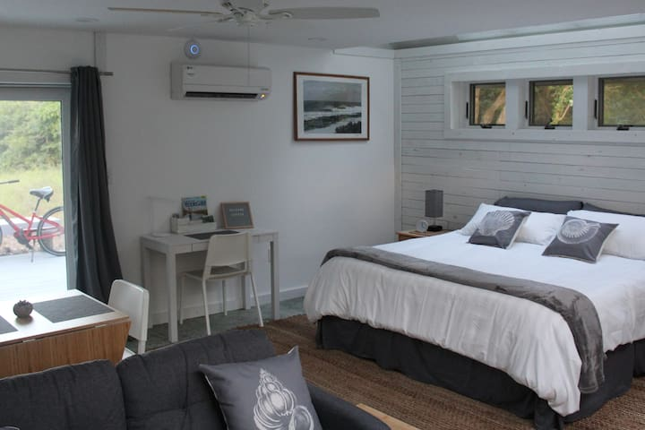 Skylight Surf Studio with king bed