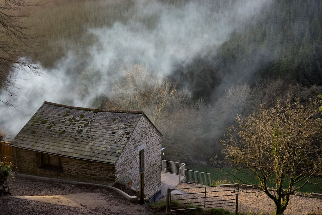 The Barn in the valley