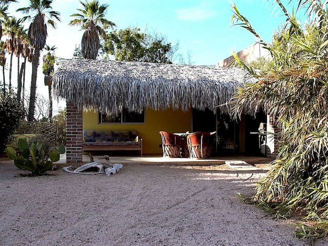 HONEYMOON HUT AT THE BAY OF LA PAZ