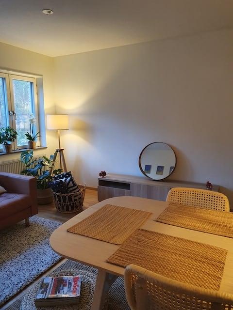 Habitación privada individual amueblada en apartamento compartido