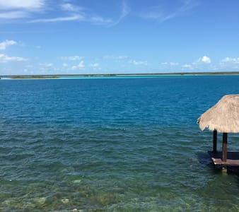 Peaceful Lagoon Front House - Bacalar