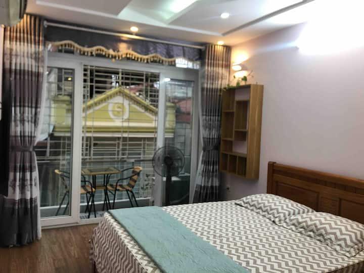 Ba Dinh Studio apt with city view