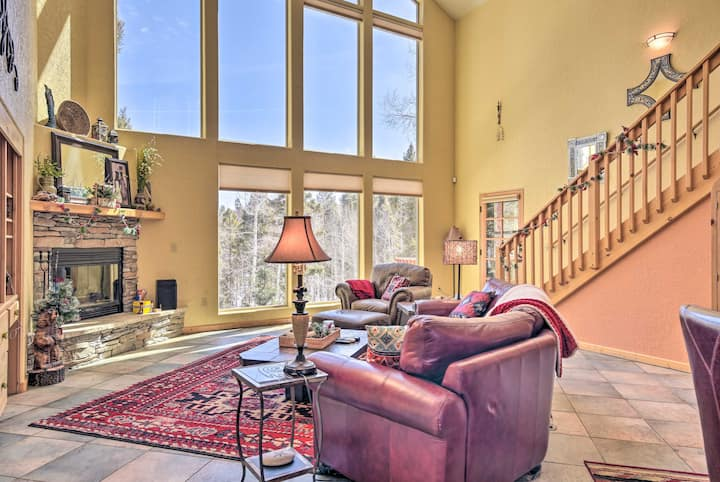 NEW! Expansive Angel Fire Retreat: 1 Mi to Fishing