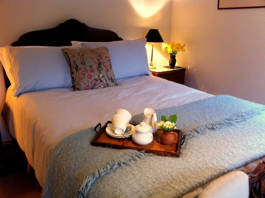 Relax in our comfortable guest room