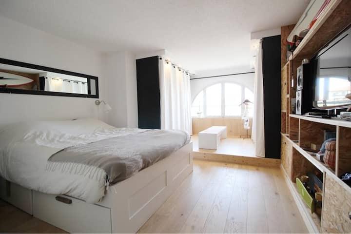 Bel appartement 3 chambres sur la plage Sud