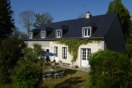 GARDEN HOUSE apartment 2/4 persons close to Bayeux