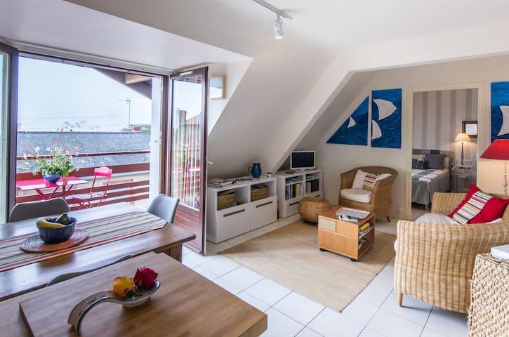 charmante Whg in zentraler Lage - Pléneuf-Val-André - Appartement
