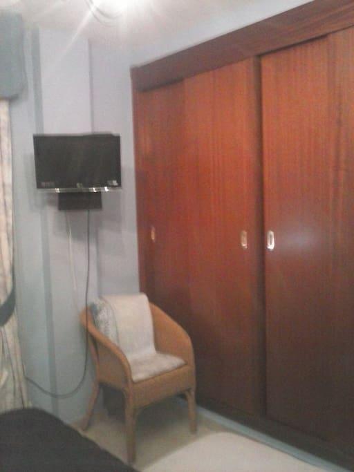 habitación 1armarios