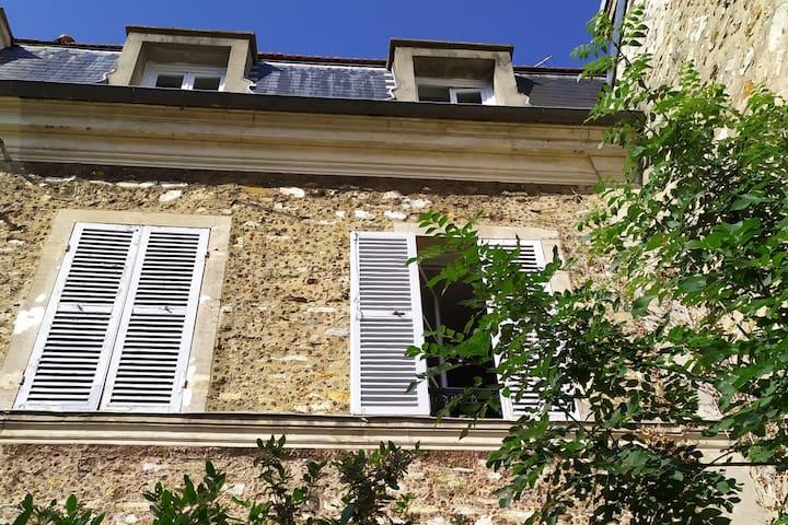 Maison de charme du 19e aux portes de Paris