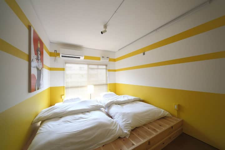 HOSTEL BUSHI-Private twin room-